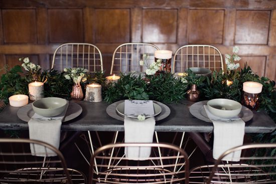 Modern Greenery With Jewel Tones Bridesmaid Inspiration015