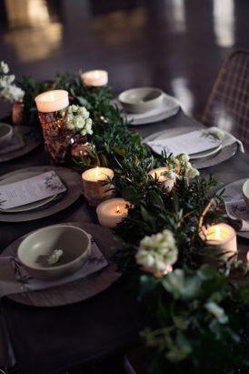 Modern Greenery With Jewel Tones Bridesmaid Inspiration016