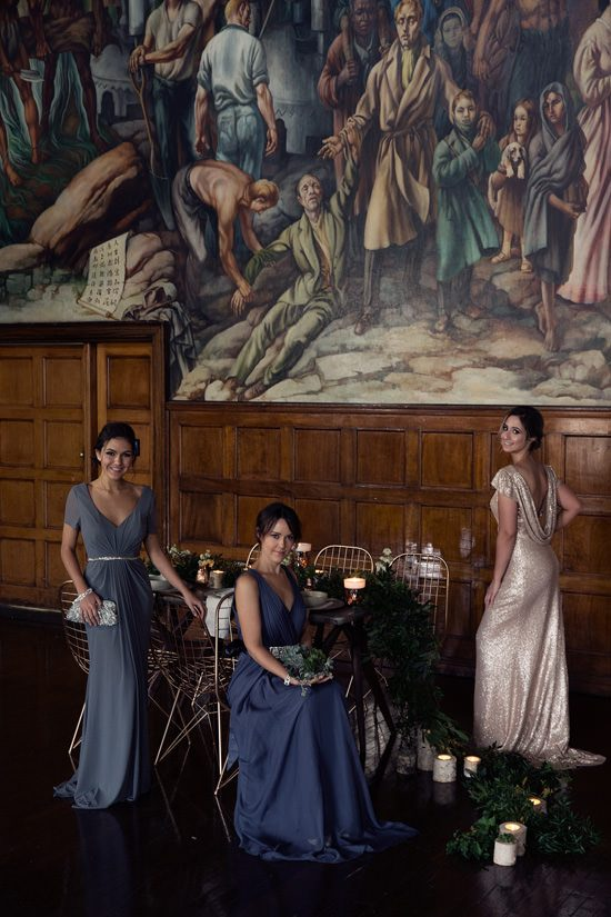 Modern Greenery With Jewel Tones Bridesmaid Inspiration026