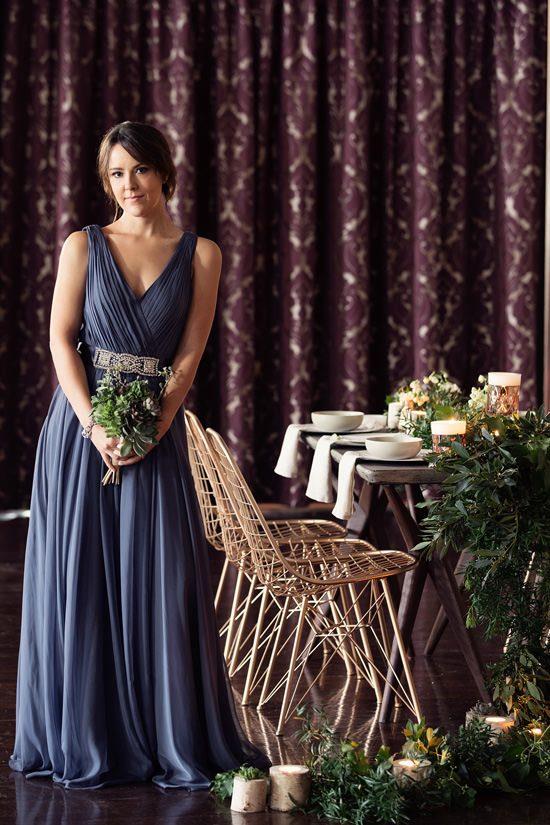 Modern Greenery With Jewel Tones Bridesmaid Inspiration029
