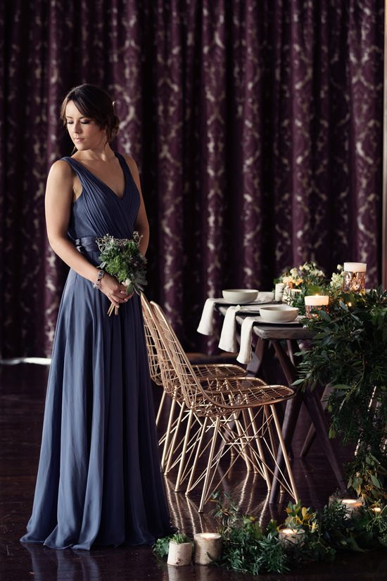 Modern Greenery With Jewel Tones Bridesmaid Inspiration030