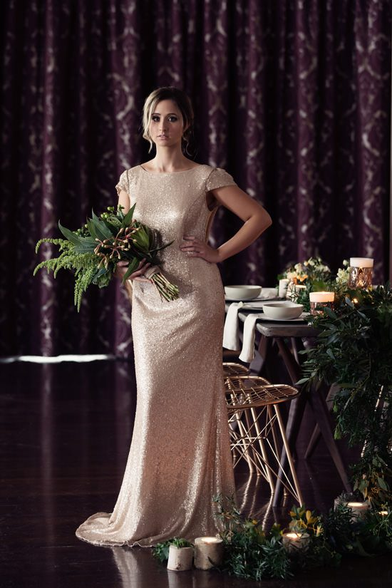 Modern Greenery With Jewel Tones Bridesmaid Inspiration032