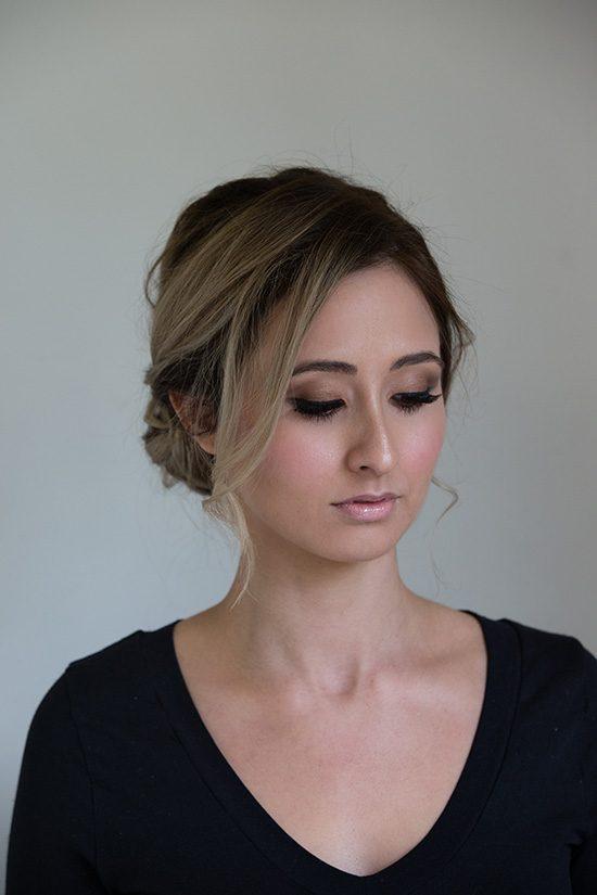 Bronze Brown Makeup Look
