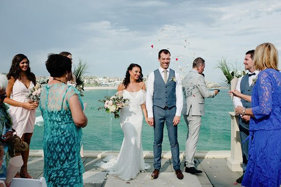 Modern Bondi Icebergs Wedding098