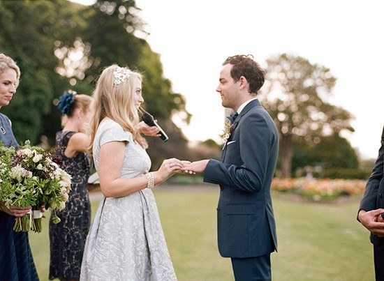 Modern Sydney Royal Botanic Gardens Wedding027