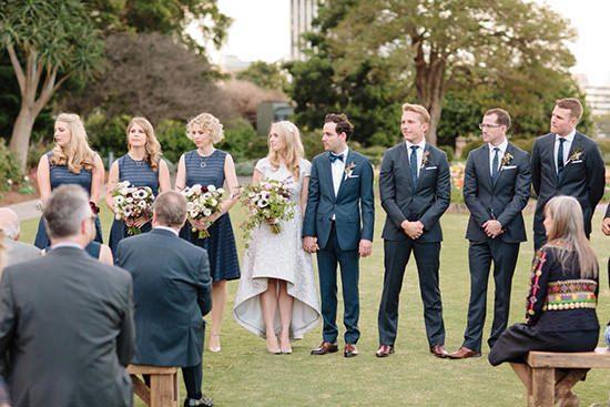 Modern Sydney Royal Botanic Gardens Wedding029