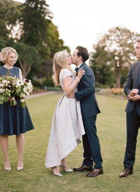 Modern Sydney Royal Botanic Gardens Wedding030