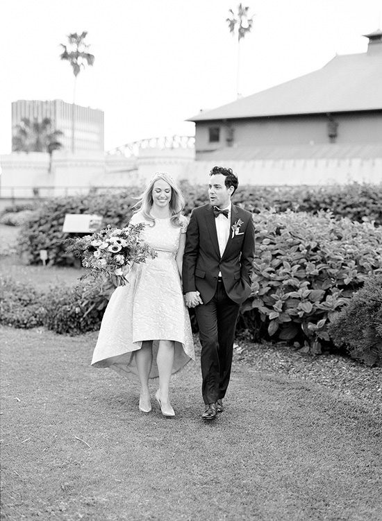 Modern Sydney Royal Botanic Gardens Wedding036