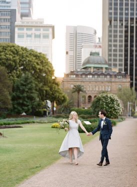 Modern Sydney Royal Botanic Gardens Wedding038