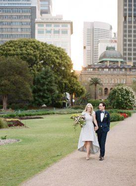 Modern Sydney Royal Botanic Gardens Wedding043