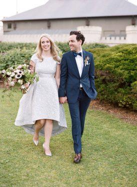 Modern Sydney Royal Botanic Gardens Wedding047