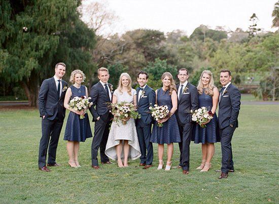 Modern Sydney Royal Botanic Gardens Wedding062