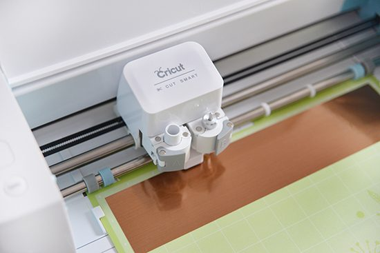 Cricut Cutting Copper Foil