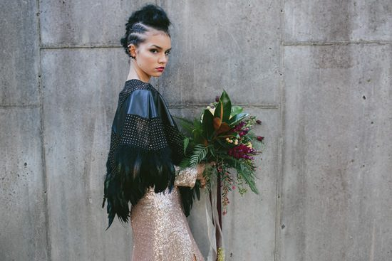Glam Grunge Wedding Inspiration021