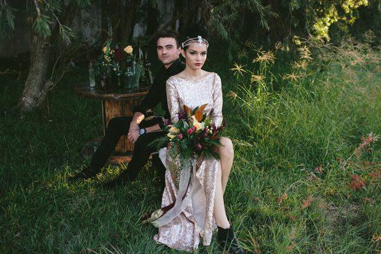 Glam Grunge Wedding Inspiration026