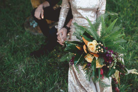 Glam Grunge Wedding Inspiration028