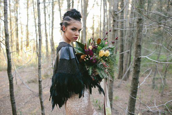 Glam Grunge Wedding Inspiration054