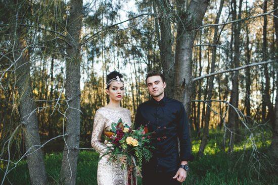 Glam Grunge Wedding Inspiration071