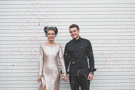 Glam Grunge Wedding Inspiration075