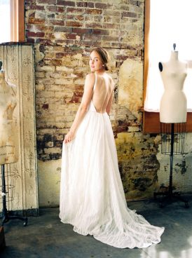 Luminous Industrial Bridal Style016