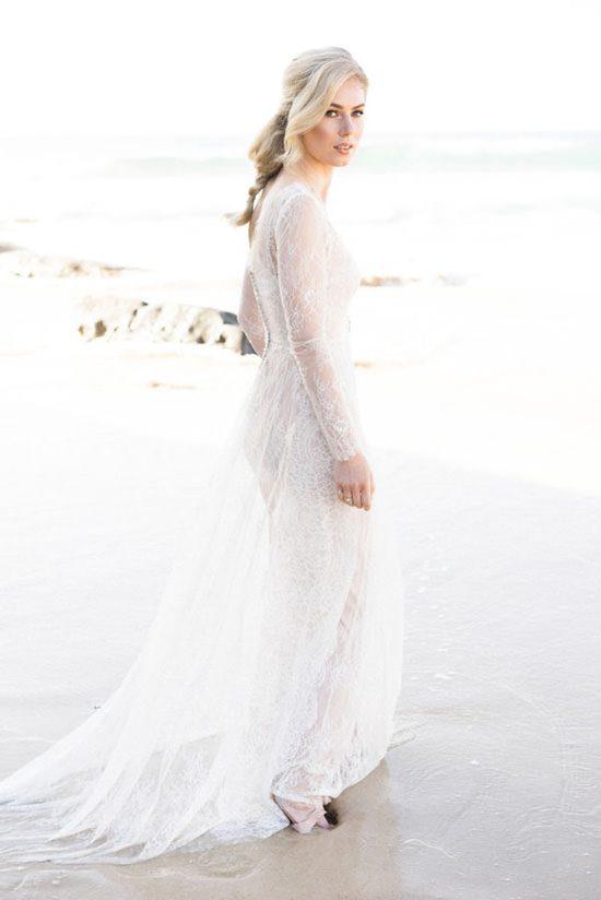 Pastel Beach Wedding Inspiration048