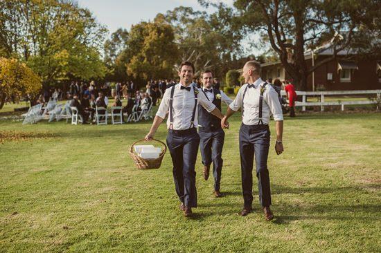 Rustic Adelaide Hills Winery Wedding046