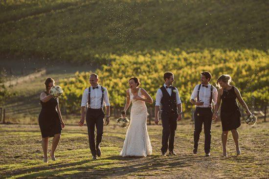 Rustic Adelaide Hills Winery Wedding058