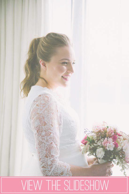Wedding Ponytail inspiration