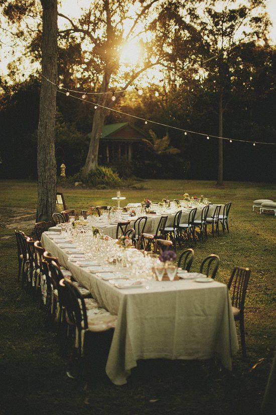 Curved Wedding Table