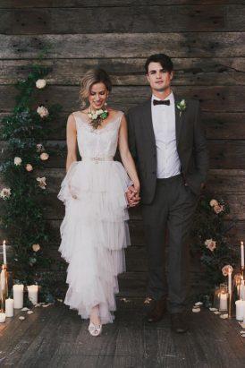 Indoor Rustic Chic Wedding Ideas037