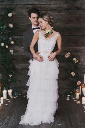 Indoor Rustic Chic Wedding Ideas040