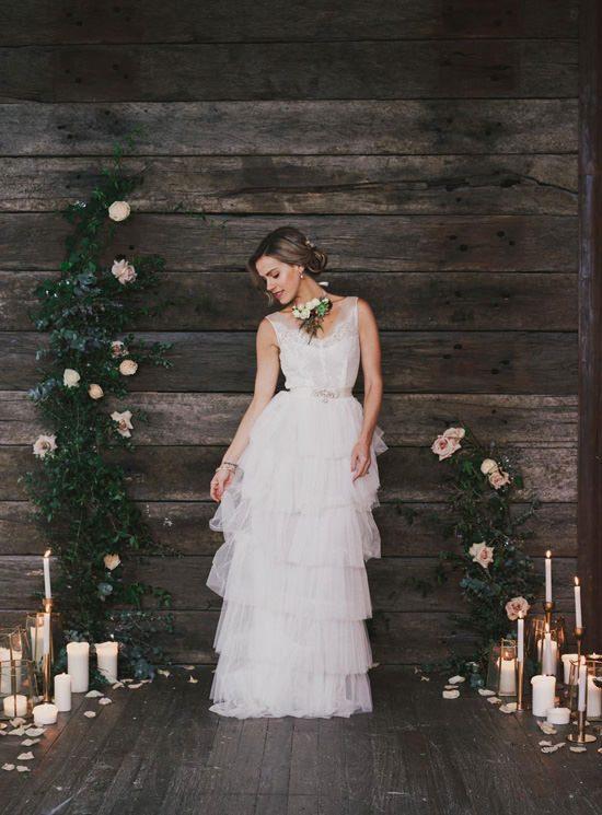Indoor Rustic Chic Wedding Ideas043