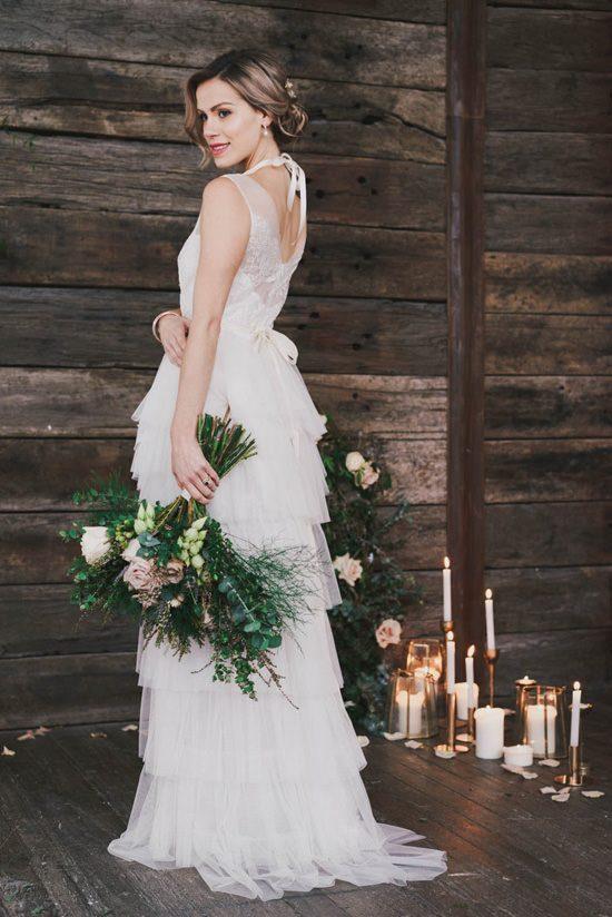 Indoor Rustic Chic Wedding Ideas048