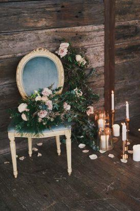 Indoor Rustic Chic Wedding Ideas063