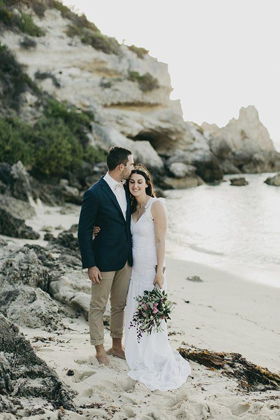 Bright Western Australian Beach Wedding - Polka Dot Bride