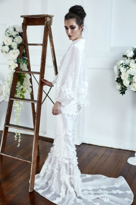 Alana Aoun 2017 Collection - Polka Dot Bride