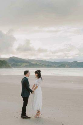 New Zealand Festival Wedding - Polka Dot Bride
