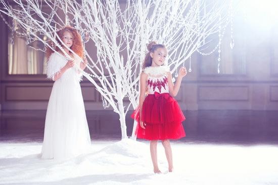 Tutu De Monde Holiday Collection - Polka Dot Bride