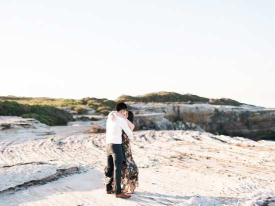 Dreamy Beach Engagement | Photo by We Are Origami http://weareorigami.com.au/