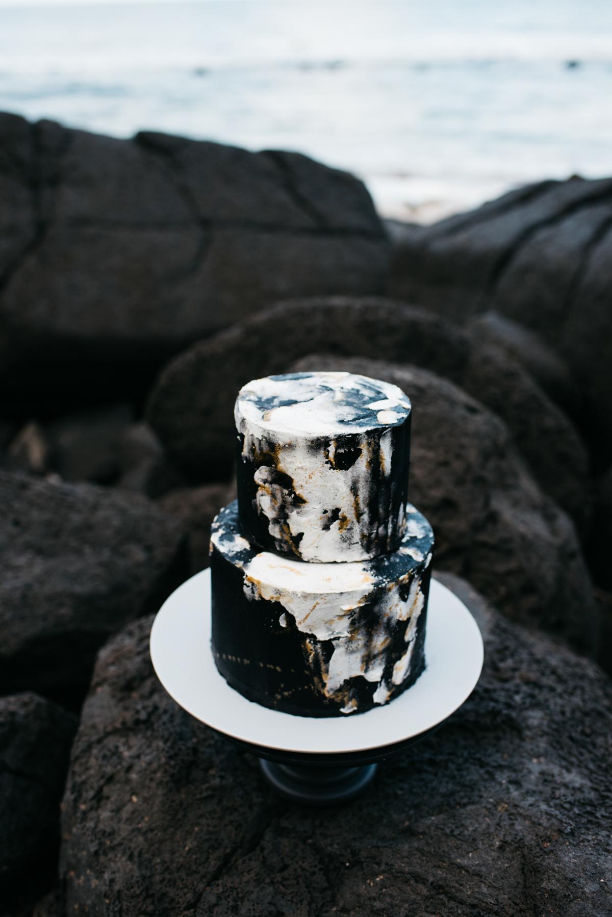 Black Marble Wedding Cake Image Polka Dot Wedding Formerly Polka Dot Bride