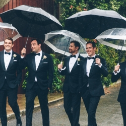 A Black Tie wedding look. Photo: Institchu