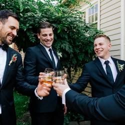 Image by Jessica Prince Photography. Via Alana & James's Italian Style Abbotsford Convent Wedding