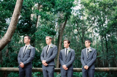 Image by Feather + Stone Photography. Via Laura and Brentons Rustic Queensland Wedding.