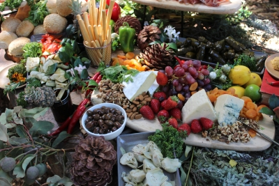 Wedding Antipasto grazing table by your private chef019