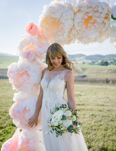 123726 whimsical florals fashion wedding editorial by lx creations