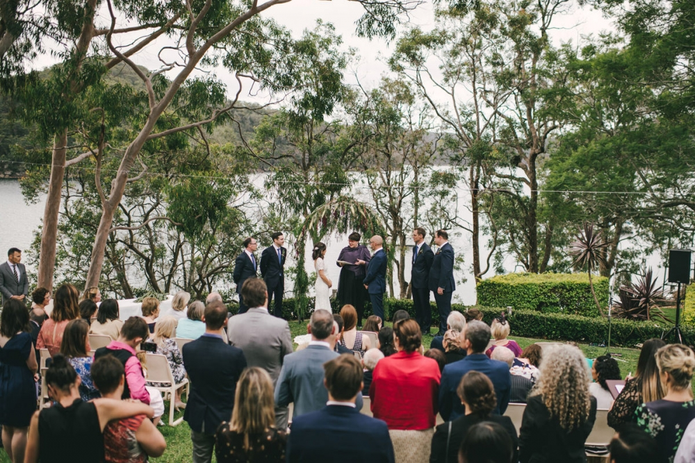 124119 low key sydney wedding at kuring gai motor yacht club by kevin lue