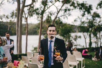 124123 low key sydney wedding at kuring gai motor yacht club by kevin lue