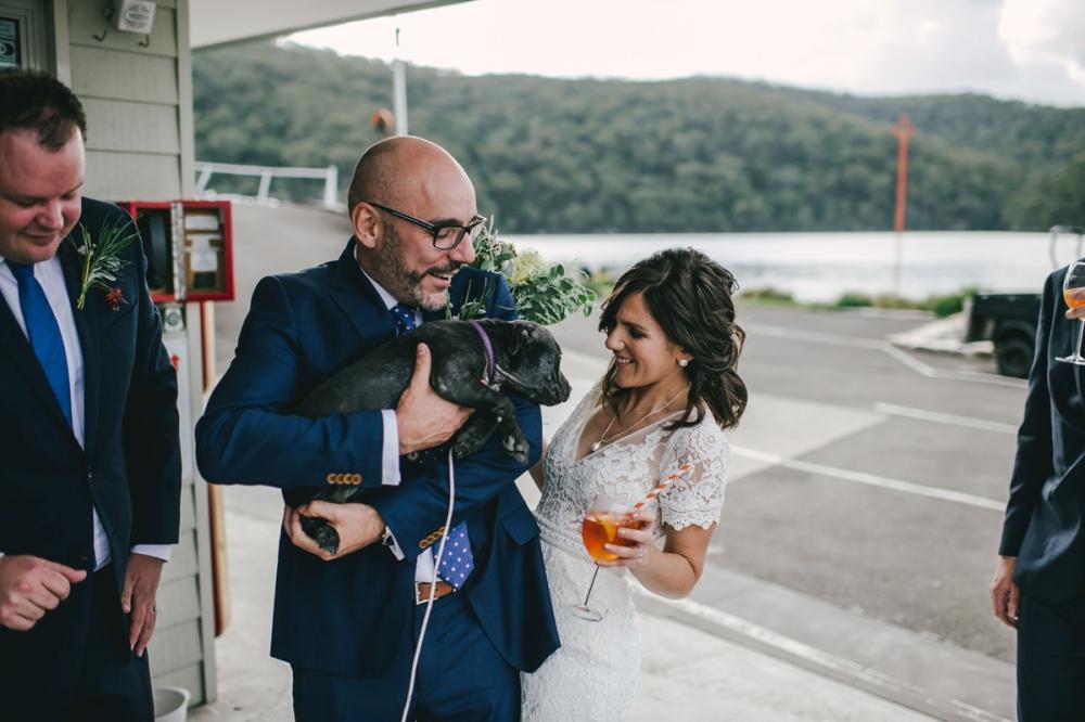 124124 low key sydney wedding at kuring gai motor yacht club by kevin lue