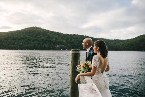 124130 low key sydney wedding at kuring gai motor yacht club by kevin lue