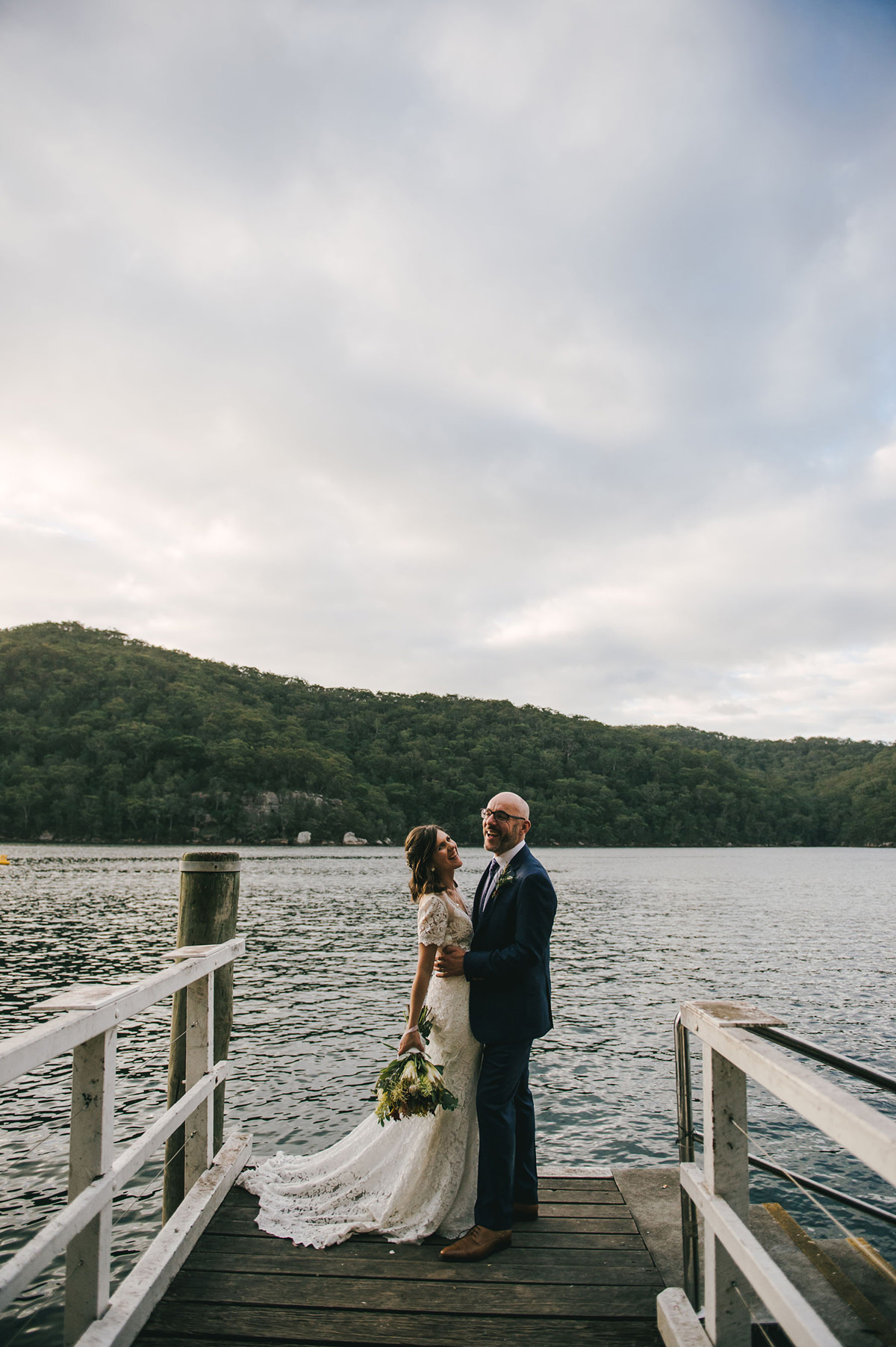 124131 low key sydney wedding at kuring gai motor yacht club by kevin lue